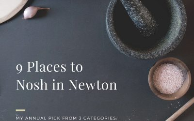 9 Places to Nosh in Newton!