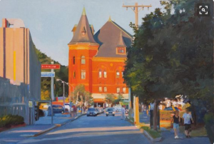 Local Artist Paints Beautiful Newtonville