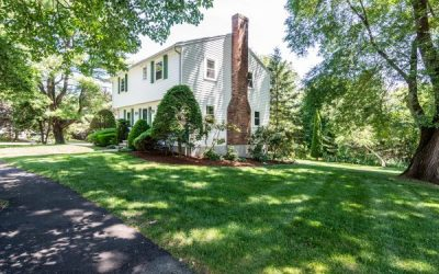 Come Home to Needham! Single Family Home Located on a Corner Lot