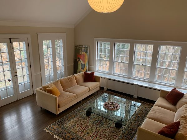 Great Room Opens to Brick Patio