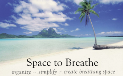 Green Organizing With Space to Breathe