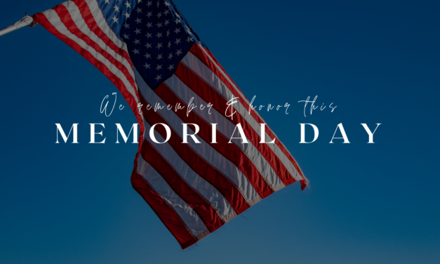 We Remember & Honor Those Who Gave All