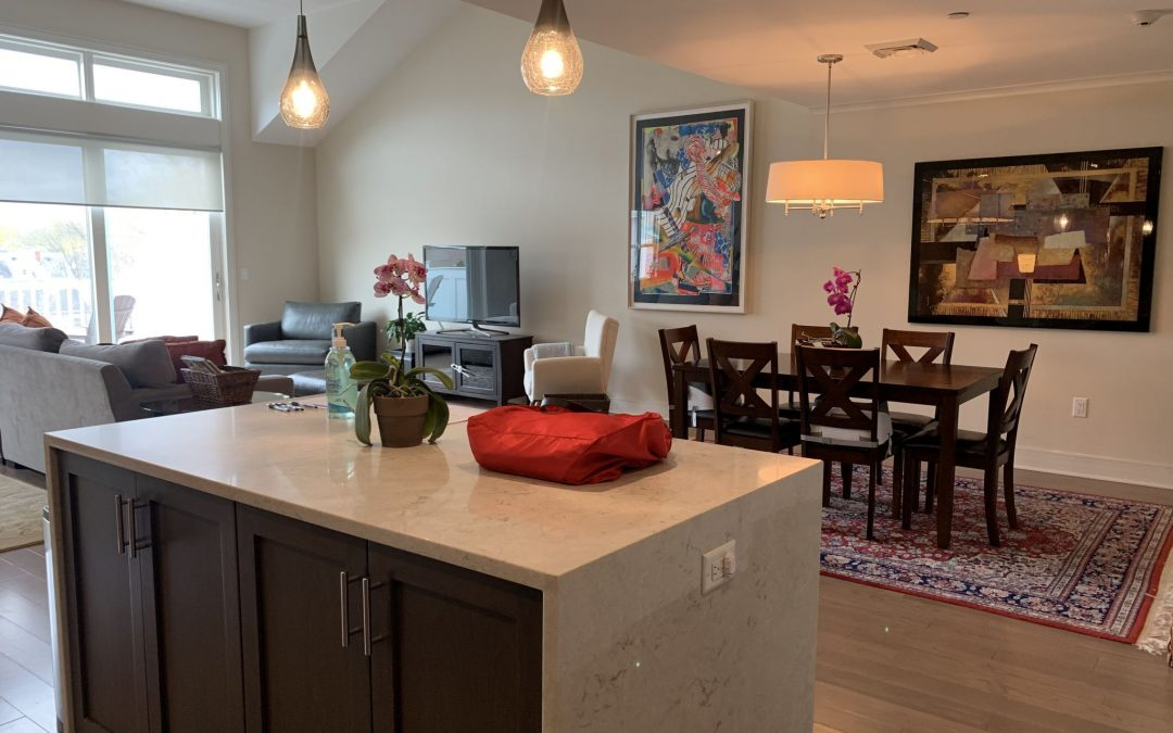 Take the Elevator Up to this Spacious, Bright Condo with Great Outdoor Space