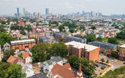 Penthouse Condo With Treetop City Views in Vibrant Uphams Corner